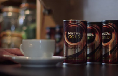 NESCAFÉ in a coffee bar?