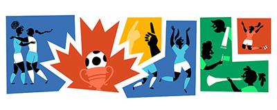 Google 女子ワールドカップ2015 決勝戦ロゴに!