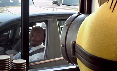 Minions Make Mischief in the McDonald's Drive Thru