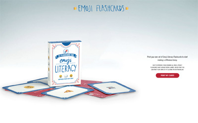 Emoji Literacy Supported by Domino's