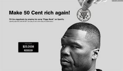 Make 50Cent rich again!