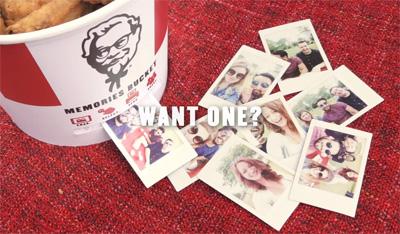 Memories Bucket KFC