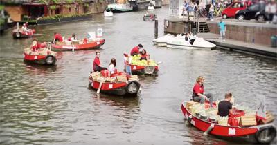 Dirk - Floating market Sail 2015