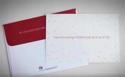 ImmunizeBC | Viral Measles Mailer