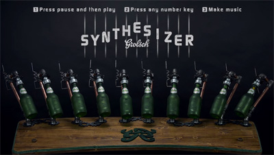The Grolsch Synthesizer