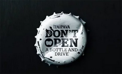 ITAIPAVA - Don't open a bottle and drive