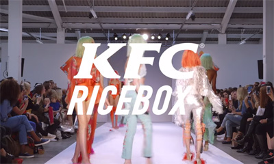 KFC Ricebox Presents | A catwalk collection in a lunch hour