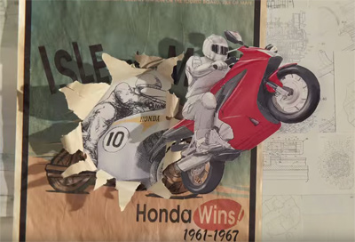 Honda Paper by PES