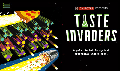 Chipotle | Taste Invaders