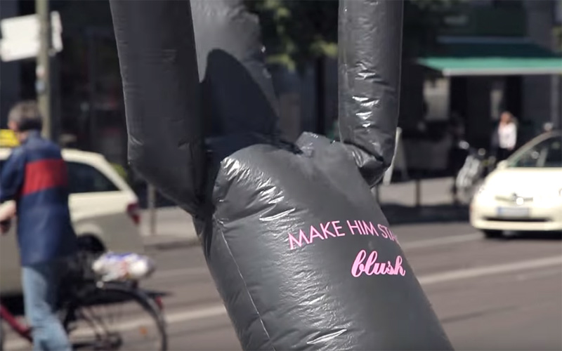 blush - Make him stand!