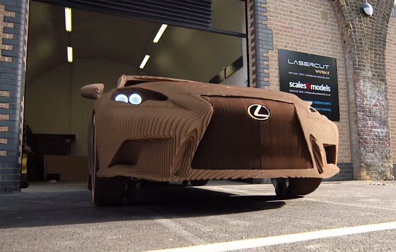 Lexus - The Origami Inspired Car Revealed