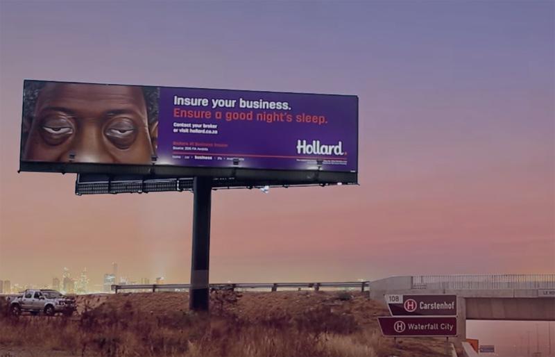 Hollard - Sleeping Billboards