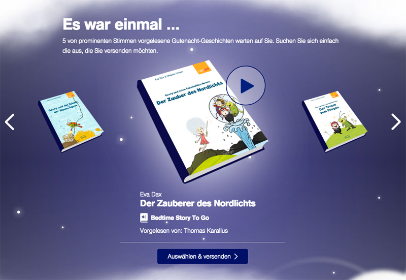Lufthansa Bedtime Stories