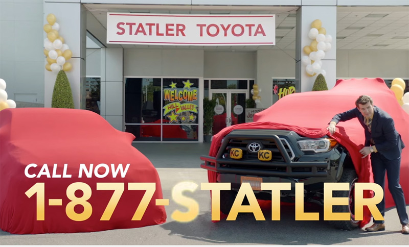Statler Toyota 2015 Reminder | Back to the Future