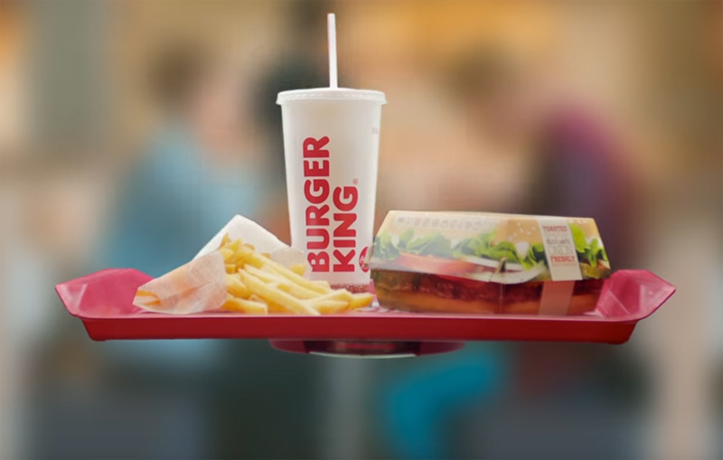 BURGER KING - HOVERTRAY