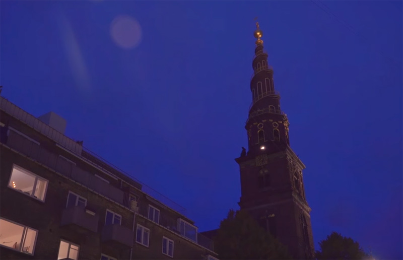 Church bells and Laser takeover in Copenhagen