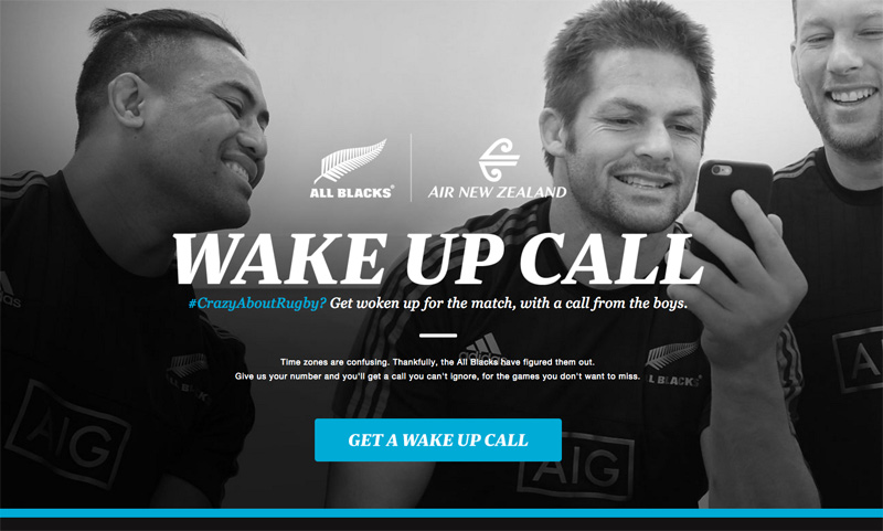 Wake Up Call - Air New Zealand