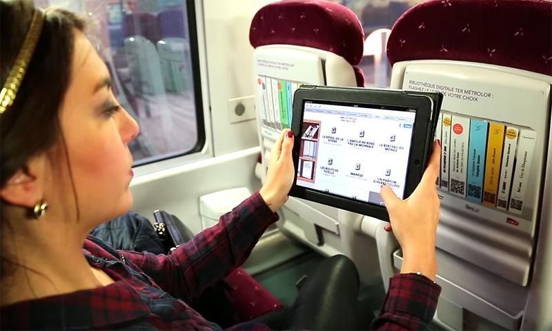 SNCF - Bibliothèque Digitale dans vos TER Lorraine