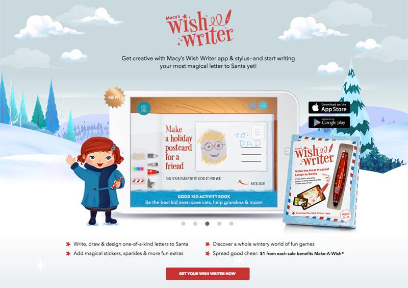The Macy's Wish Writer