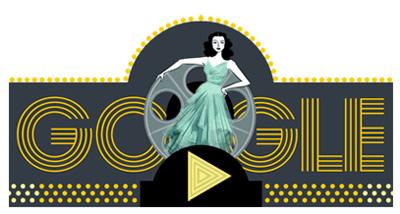 Google オーストリア出身の女優で発明家のヘディ・ラマー生誕101周年記念アニメーションに!