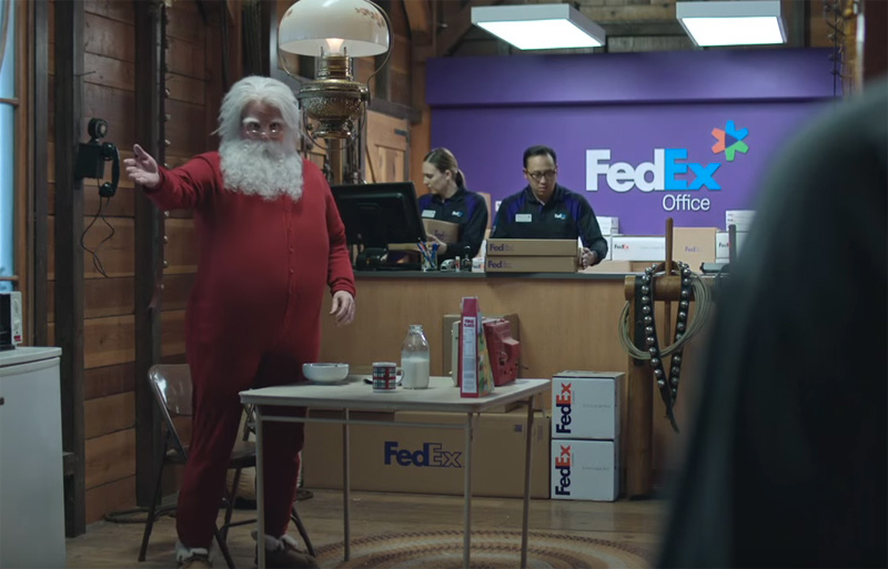 FedEx TV Ad North Pole Extended Cut