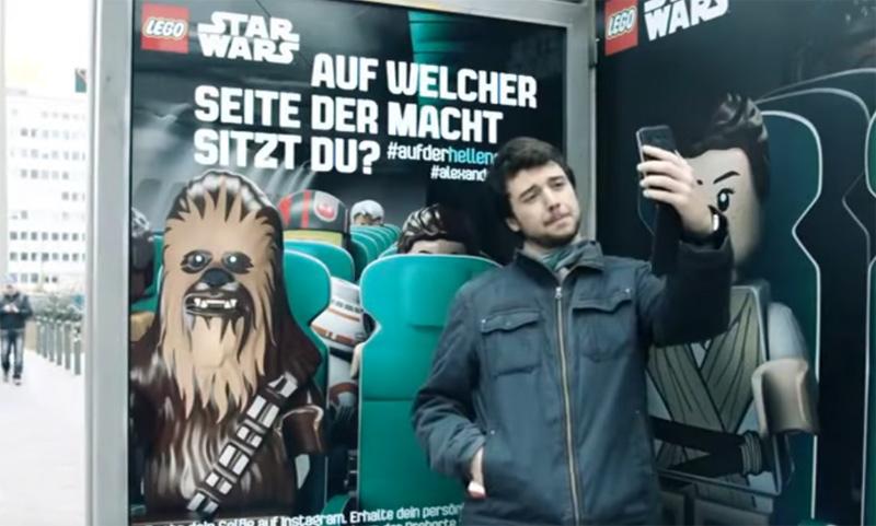 Star Wars selfies by Lego!