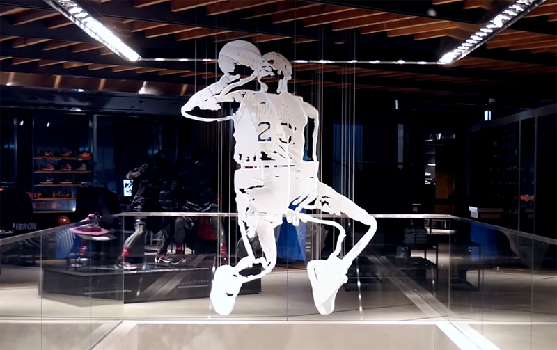 3D Sculpture of Michael Jordan