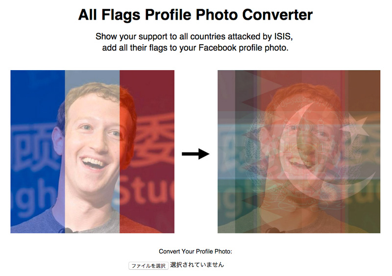 All Flags Profile Photo Converter