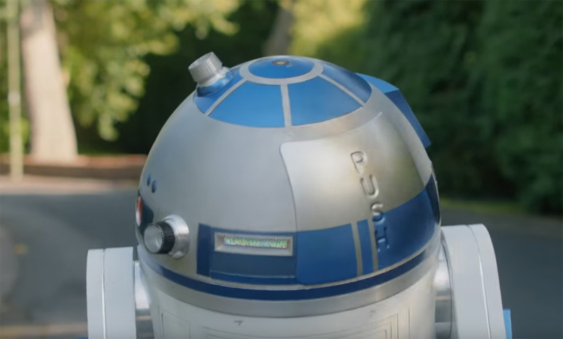 Reinvent Romance with R2-D2