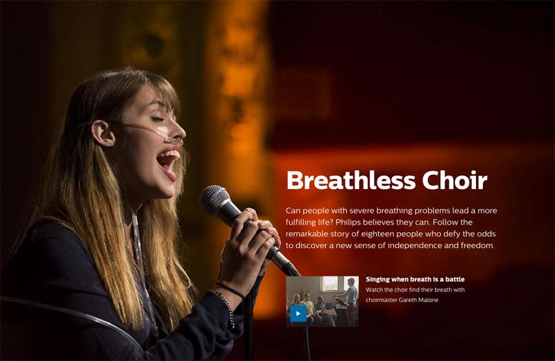Philips Breathless Choir