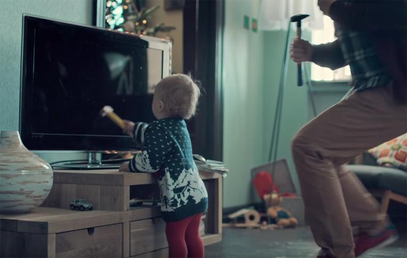 Happy accidents | Samsung SUHD TV