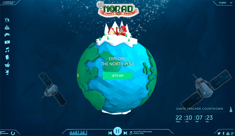 Official NORAD Santa Tracker