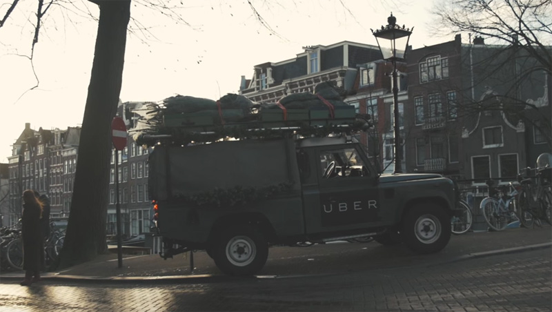 Kerstbomen On Demand | Uber Netherlands