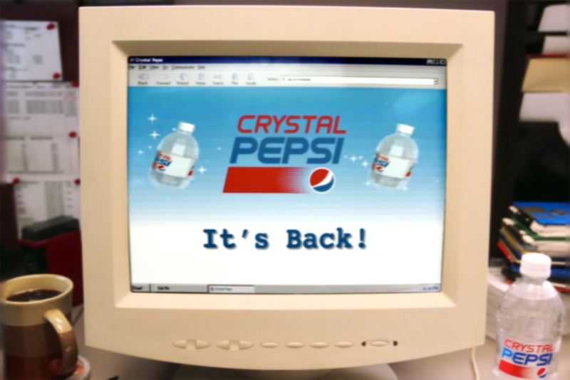 CRYSTAL PEPSI RETURNS | Pepsi