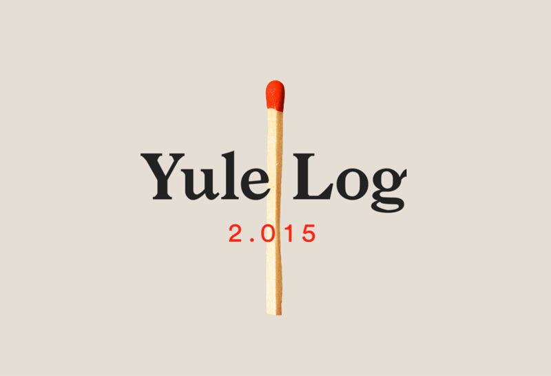 Yule Log 2.015 - Happy Holidays