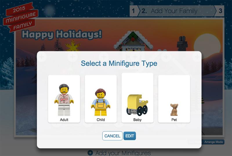 LEGO Minifigure Family