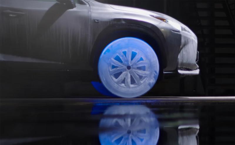 Lexus on Ice NX Ice Wheels