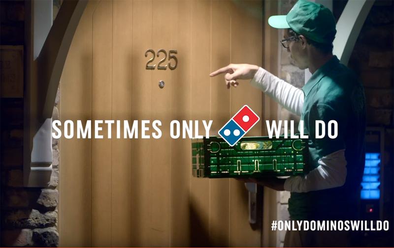 When Only Domino's Will Do... in real life