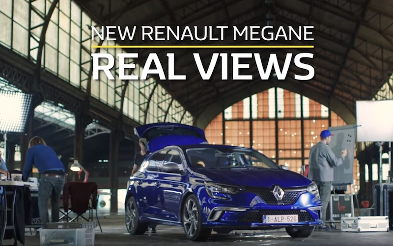 Nouvelle Renault Mégane - Real Views