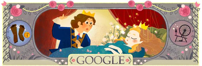 Google 童話集で知られるシャルル・ペロー生誕388周年記念ロゴに!