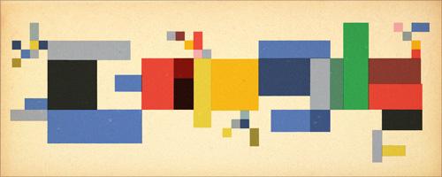 Google スイスの芸術家ゾフィー・トイバー・アルプ生誕127周年記念ロゴに!