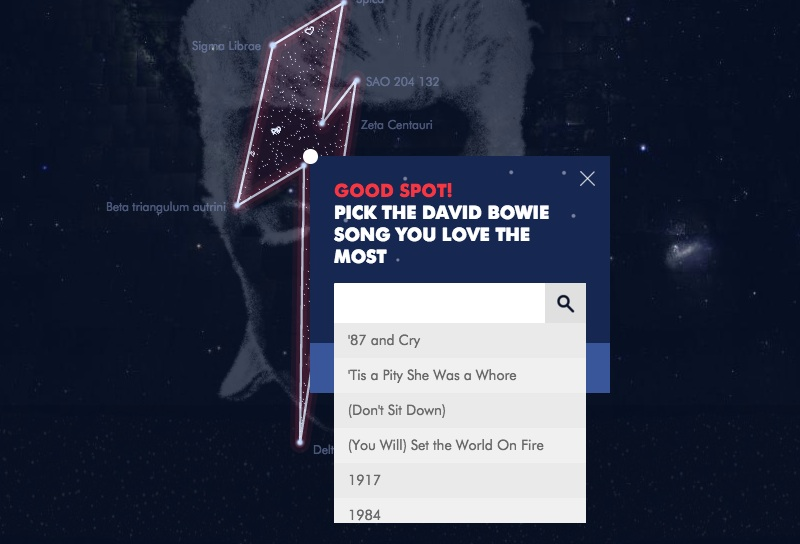 Stardust for Bowie