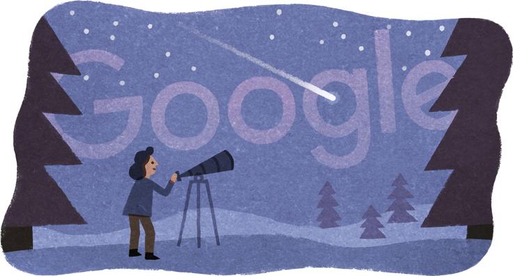 Google 天文学者ベアトリス・ティンズリー生誕75周年記念ロゴに!