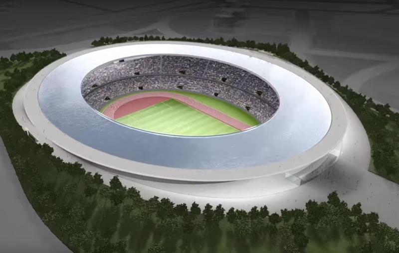 THE OLYMPIC STADIUM - Tokujin Yoshioka Design