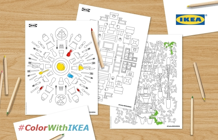 #ColorWithIKEA