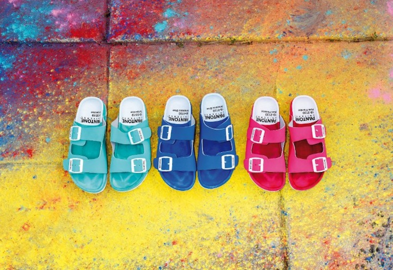 Pantone Universe Footwear SS16 collection