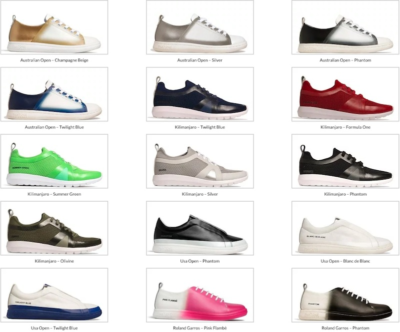 Pantone Universe Footwear SS16 collection