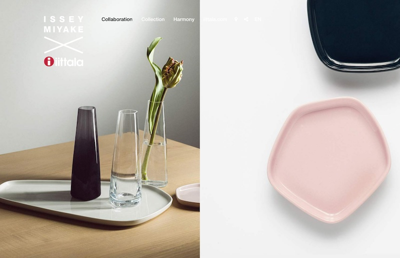Iittala x Issey Miyake Home Collection