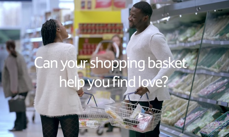 Tesco Valentine's | Introducing Basket Dating