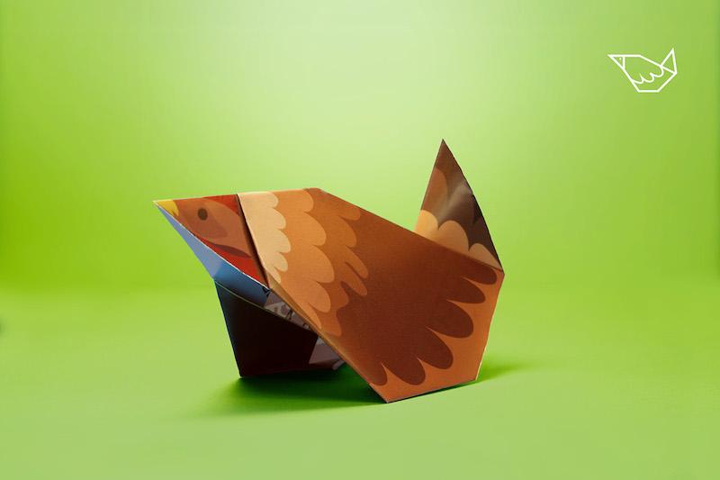McDonald's :: Origami Tray-mat